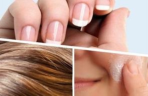 Haut, Haare und Nägel