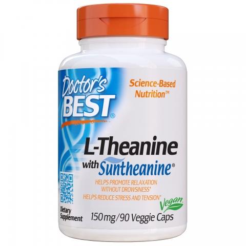 Doctor's Best - L-Theanine - Suntheanine®
