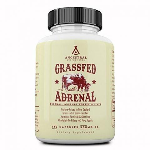 Ancestral Supplements - Grasgefütterte Nebennierenrinde 180 Kapseln