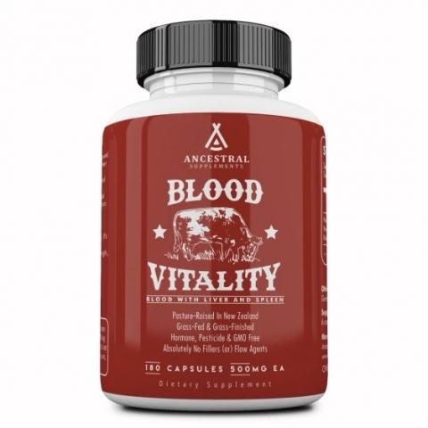 Rinderblutkomplex - Blood Vitality - mit Leber und Milz - grasgefüttert