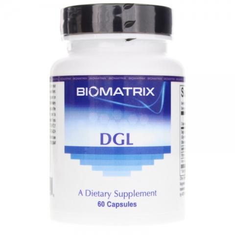 DGL - Deglycyrrhizinierte Süßholzwurzel - Formel