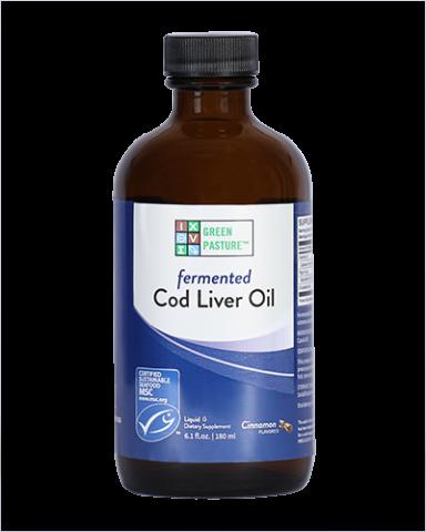 Flüssiger fermentierter Lebertran - Zimt - Cinnamon - 180 ml