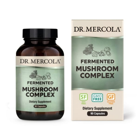 Dr. Mercola - Gefermenteerde Paddenstoelen Complex