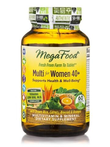 Natürliche Multivitamine für Frauen 40+