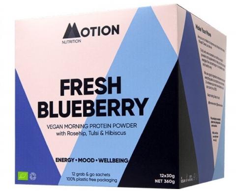 Motion Nutrition - Fresh Blueberry - Ochtend Proteïne
