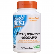 Doctor's Best - Serrapeptase - 40.000 units