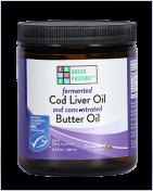 Green Pasture - Fermentierter Lebertran & X-Factor High Vitamin Butter Öl - Gel - Zimt - 240 ml