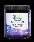 Green Pasture - Fermentierter Lebertran & X-Factor High Vitamin Butter Öl - Gel - Naturel - 240 ml