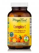 MegaFood - Komplex C - Natürliches Vitamin C - 30 Tabletten