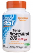 Trans-Resveratrol 200 mg - mit Rotwein Extrakt