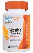 Frontansicht von Doctor's Best Vitamin C weiche Kaubonbons, 120 weiche Kaubonbons in Orangengeschmack, 250 mg Vitamin C pro Portion