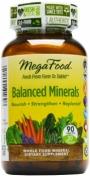 MegaFood - Balanced Minerals - Natürlicher Mineralen Komplex - 90 Tabletten