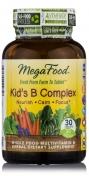 MegaFood - Kid's B Komplex - Natürlicher Vitamin B Komplex - 30 tabletten