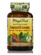 MegaFood - Natürlicher Vitamin B Komplex - 30 Tabletten