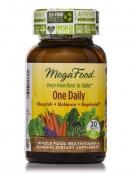 MegaFood - One Daily - Natürliches Multivitamin - 30 Tabletten