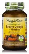 MegaFood - Turmeric Strength - Natürliche Curcumin Formulierung - 60 Tabletten