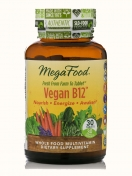 MegaFood - Vitamin B12 - Vegan - 30 Tabletten