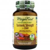 MegaFood - Turmeric Strength - Leber Formulierung - 60 Tabletten