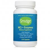 Organic3 - GUTZyme HCL (GUTzyme RESTORE) - 120 pflanzliche Kapseln