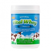 Well Wisdom - Biologisches Whey Eiweiss - Vital Whey Naturel - 600 gramm