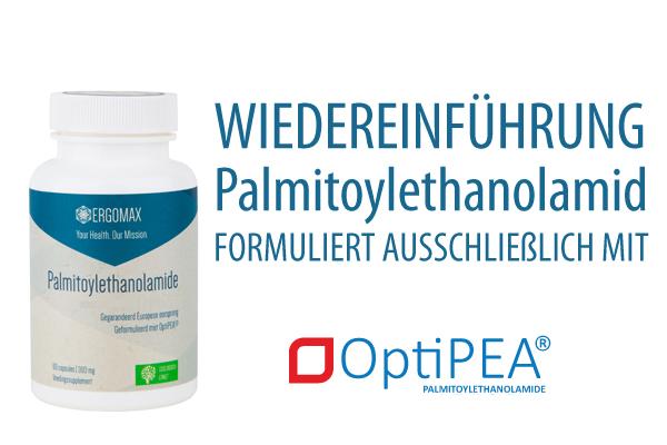 Wiedereinführung Palmitoylethanolamid - OptiPEA® | Ergomax ...